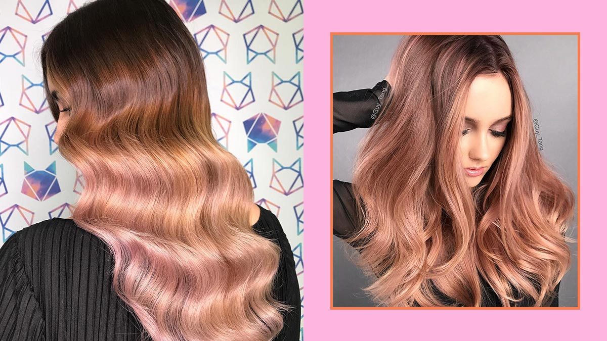Rose Gold Hair Inspiration Cosmo