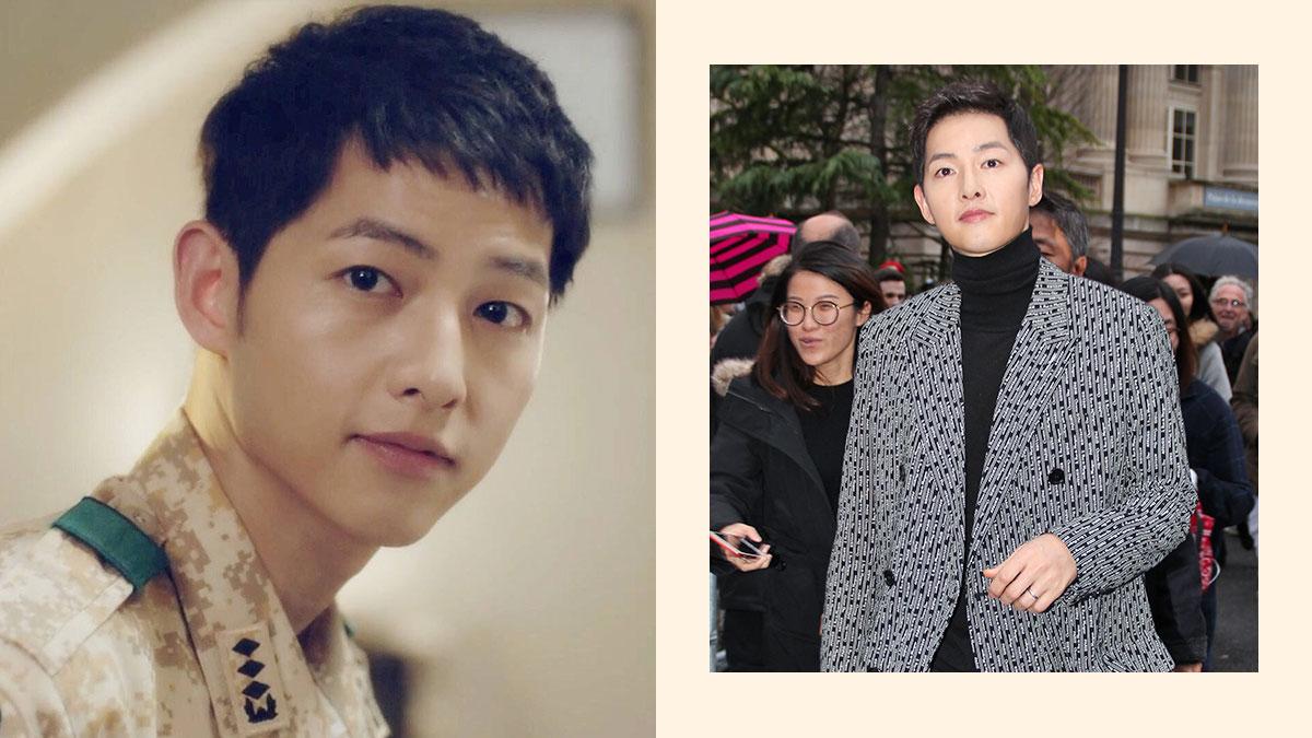 PHOTO LEFT Descendants Of The Sun KBS RIGHT WENN Song Joong Ki