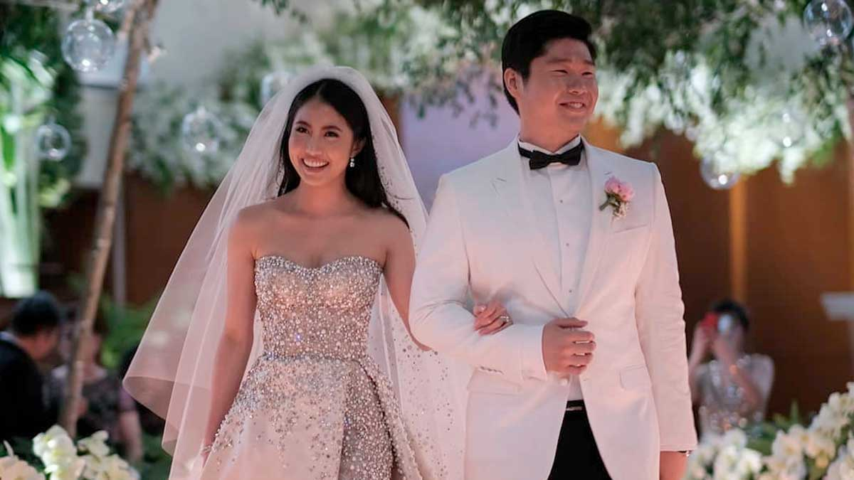 This Former Miss Chinatown Weds In Style Of Crazy Rich Asians Pep