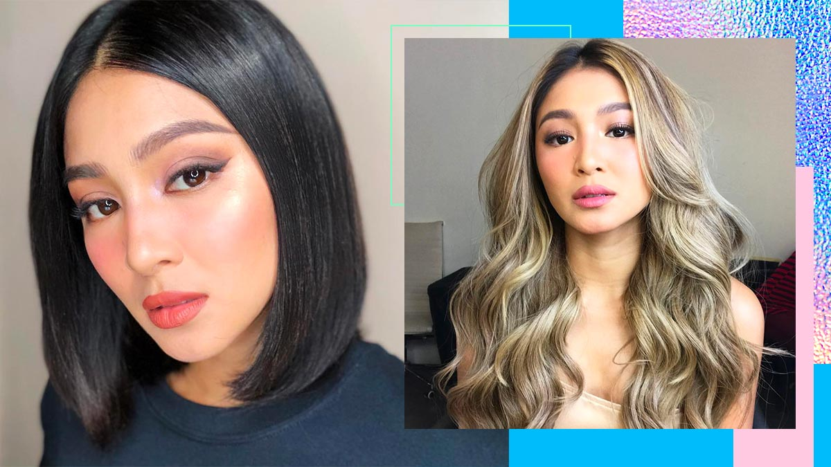 Nadine Lustre\'s Hairstyles In 2018 | Cosmo.ph