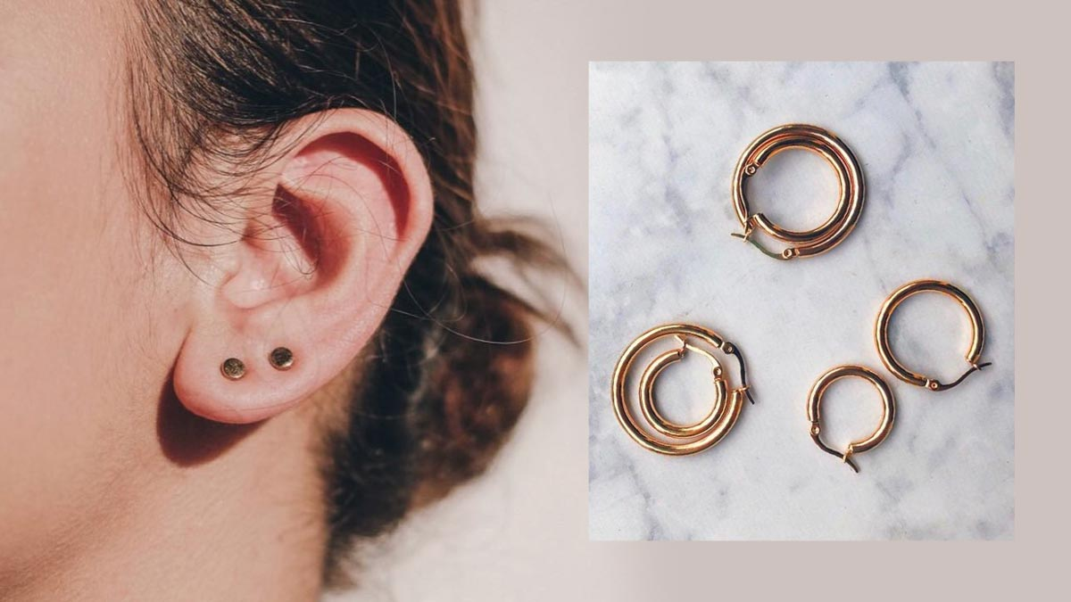 Where To Minimalist Earrings For Multiple Piercings