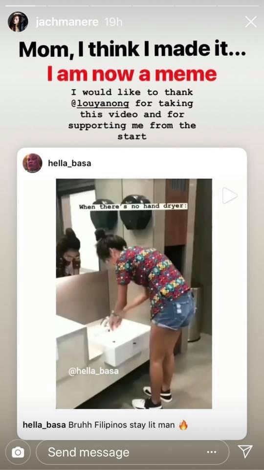 Jach Manere's Bathroom Instagram Story Goes Viral