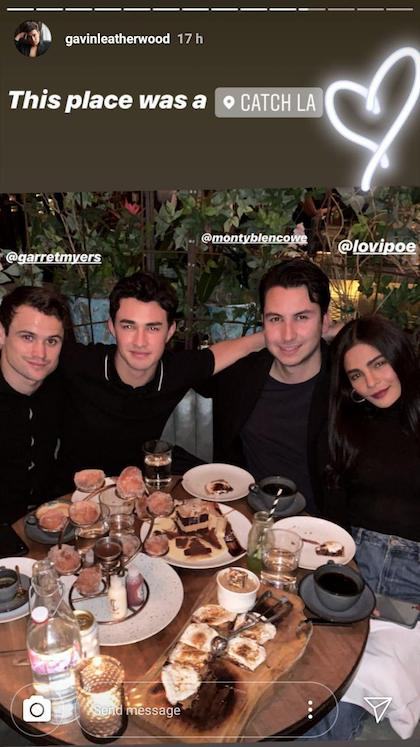 Lovi Poe Gavin Leatherwood From Sabrina Series Hang Out