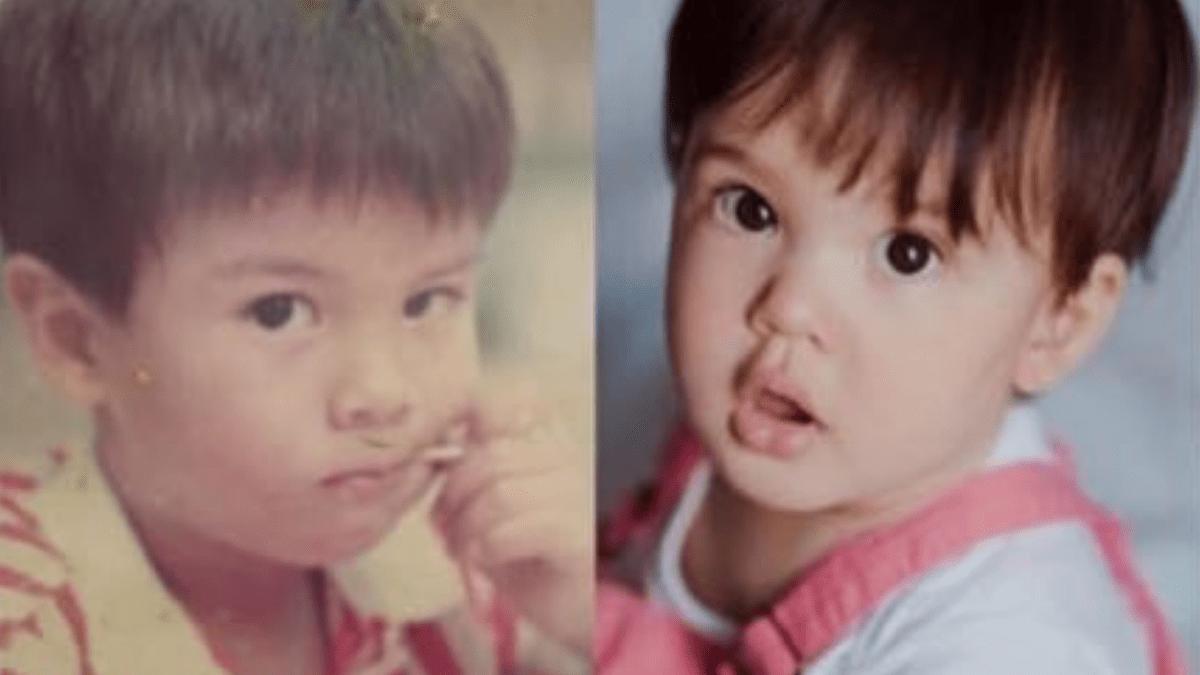 Erwan Heussaff As A Baby Looks Like Baltie, Isabelle Daza ...