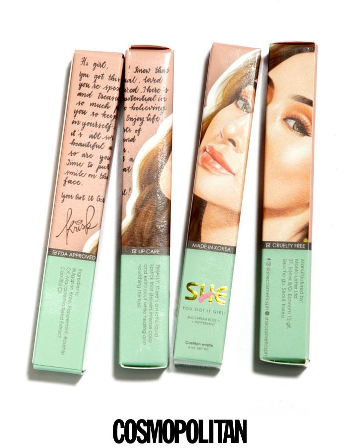 Kris Bernal's She Cosmetics Liquid Cushion Matte Lipstick