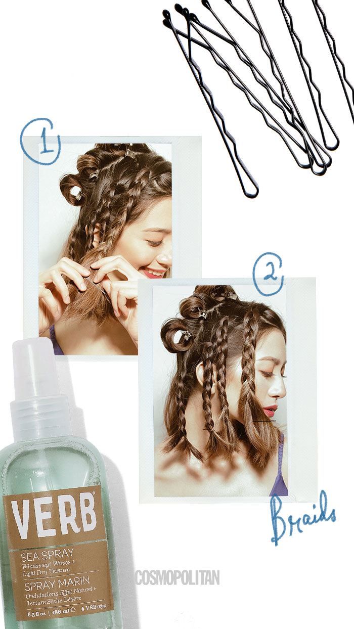 Hairstylist Suyen Salazar Teaches Beach Wave Hair Techniques