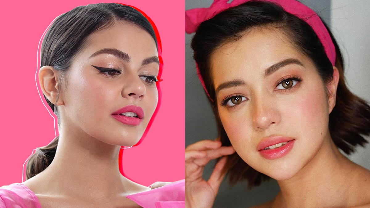 Andrea Montenegro En Latin Lover pink lipstick trend 2019 - how to wear different shades of pink