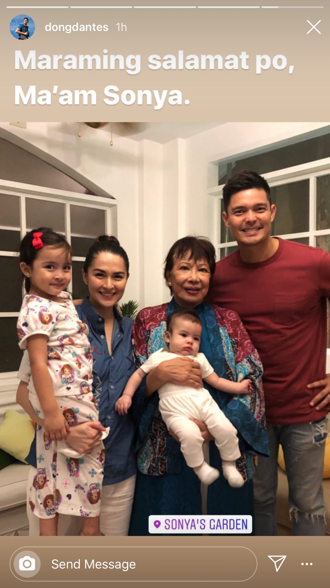 Dingdong Dantes And Marian Rivera Celebrate Her 35th Birthday