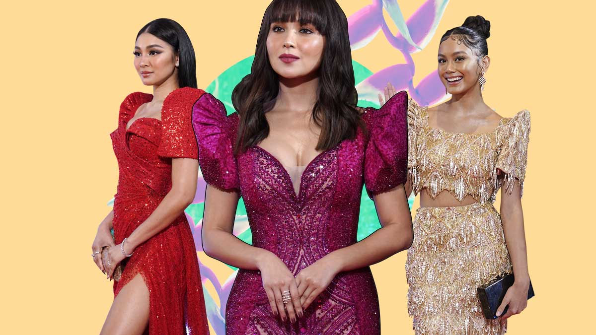 best dressed abs cbn ball 2019 terno 1568514565