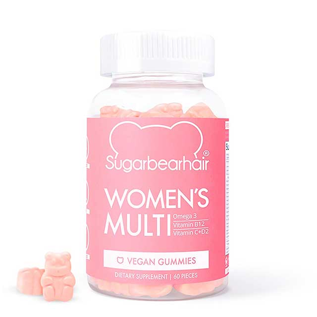 Best hair vitamin: Sugarbearhair Women's Multi Vegan Multivitamins