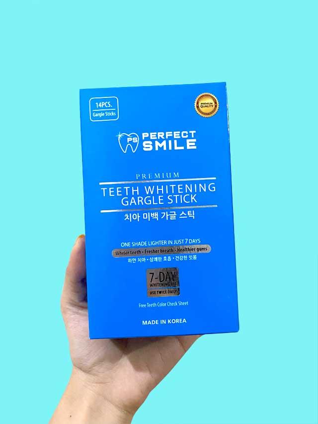 One box of Perfect Smile Gargle Stick Kit