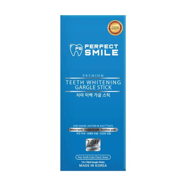 Perfect Smile Gargle Stick box
