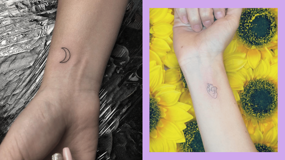 Instragram Ishi Tattoo Wrist Cuffs: Minimalist Wrist Tattoo Designs