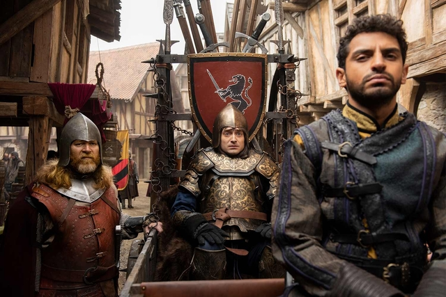 Daniel Radcliffe On Filming Comedy Series Miracle Workers: Dark Ages