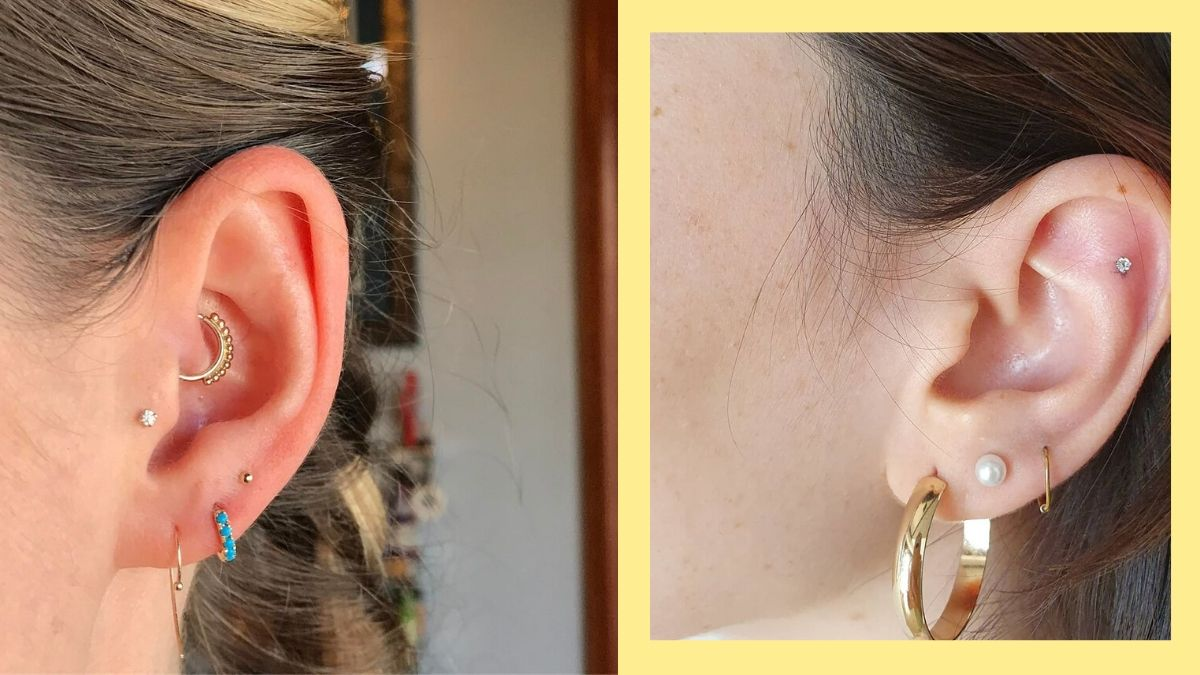 These Are The Prettiest Ear Piercing Combinations To Try In 2020