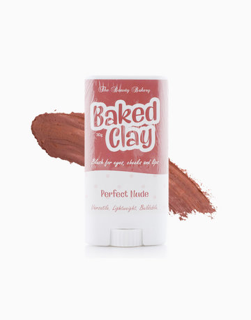 Best neutral blushes: Beauty Bakery Baked Clay in Perfect Nude
