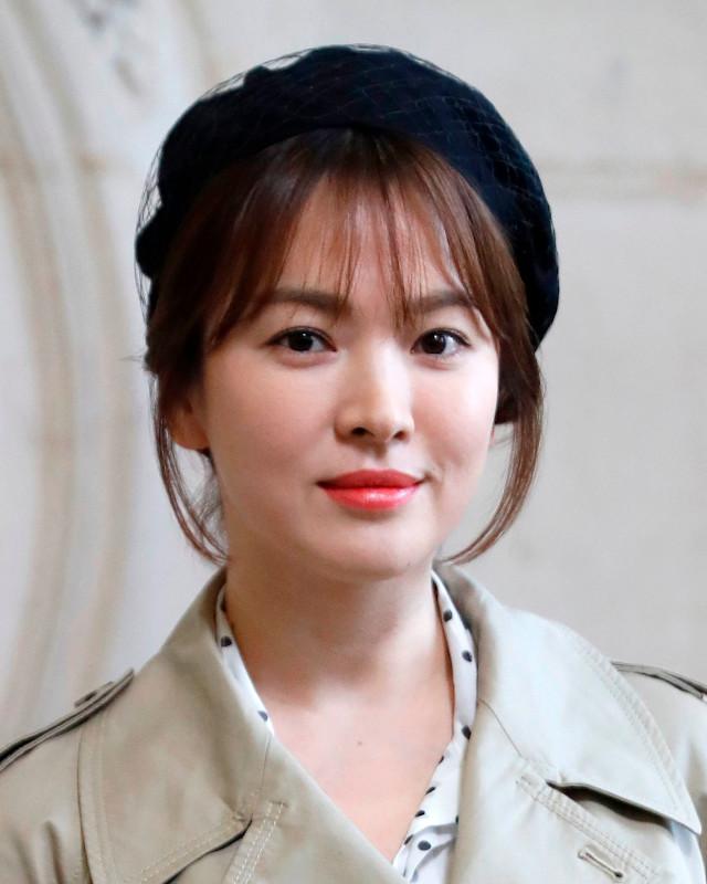 Song Hye Kyo at Dior Paris Fashion Week 2018.