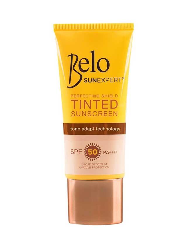 Best Foundation Alternative: Belo SunExpert Perfecting Shield Tinted Sunscreen SPF 50 PA+++