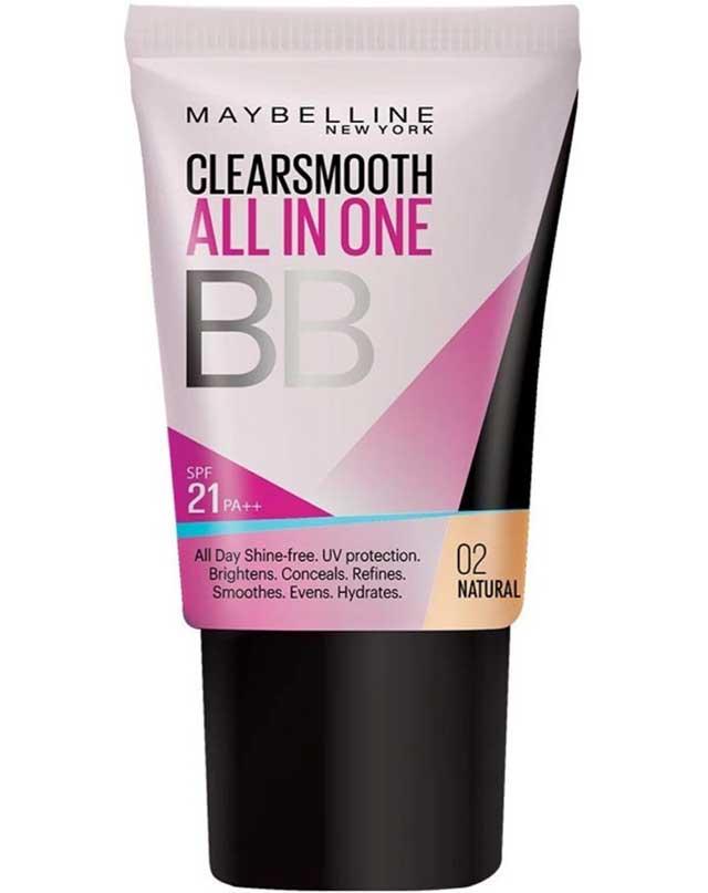 Best Foundation Alternative: Maybelline ClearSmooth BB Cream