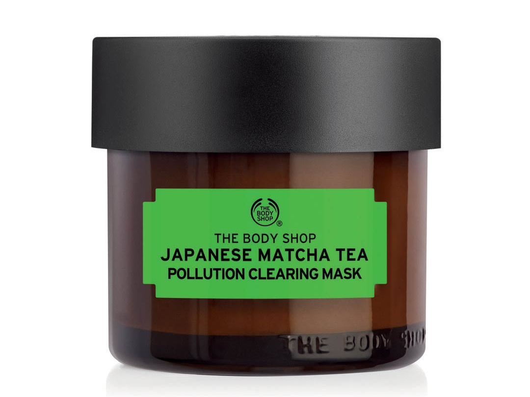 Best Green Tea-Infused Product: The Body Shop Japanese Matcha Tea Pollution Clearing Mask