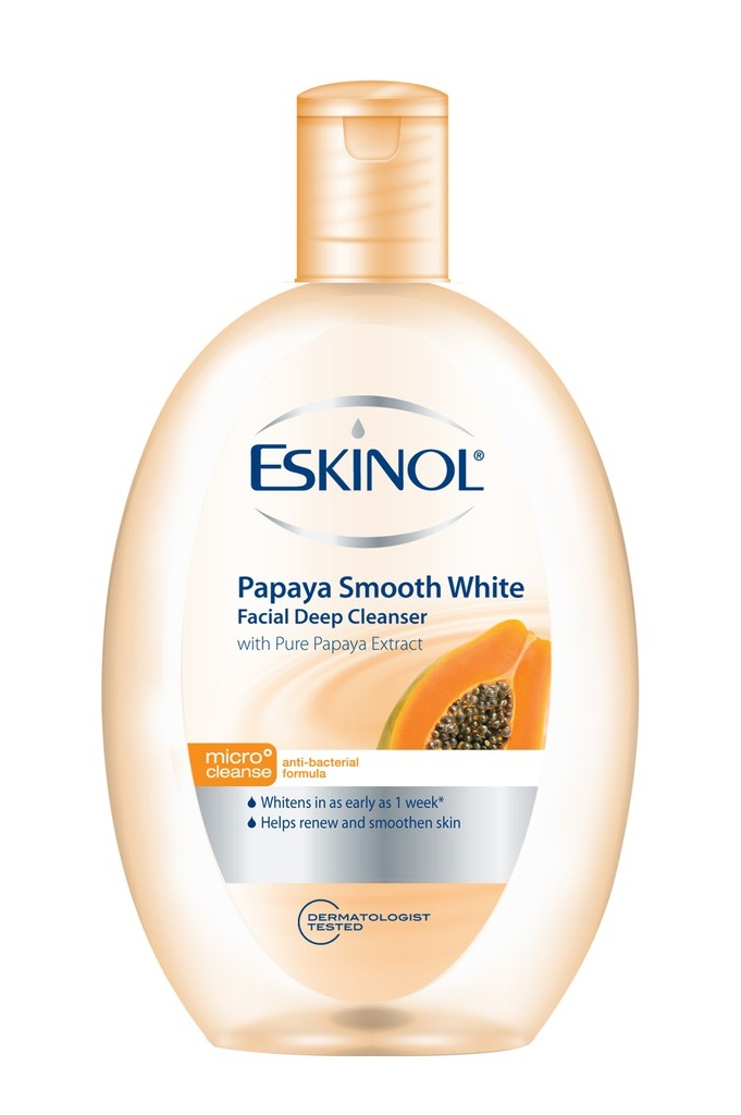 Best Affordable Toner You Can Buy From The Grocery: Eskinol Papaya Smooth White Facial Deep Cleanser