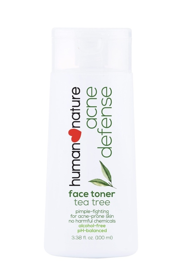 Best Affordable Toner You Can Buy From The Grocery: Human Nature Acne Defense Face Toner