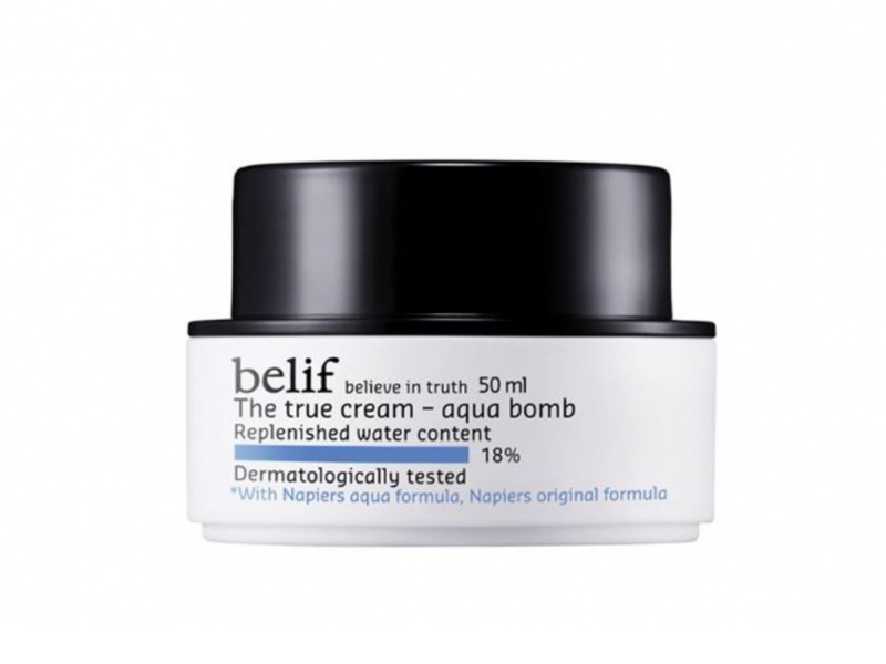 Korean Products To Save Your Skin From The Heat: belif The True Cream Aqua Bomb