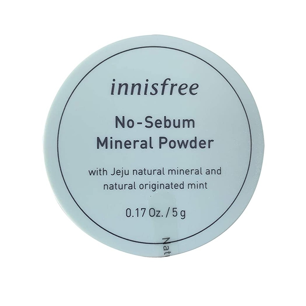 Korean Products To Save Your Skin From The Heat: Innisfree No Sebum Mineral Powder
