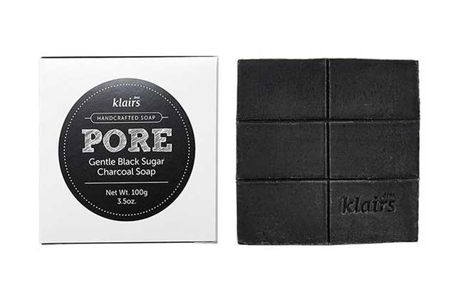 Best Charcoal-Infused Skincare Product: Dear Klairs Pore Gentle Black Charcoal Soap