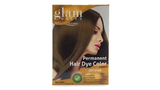 Best Box Hair Dye: Glamworks Permanent Hair Dye Color