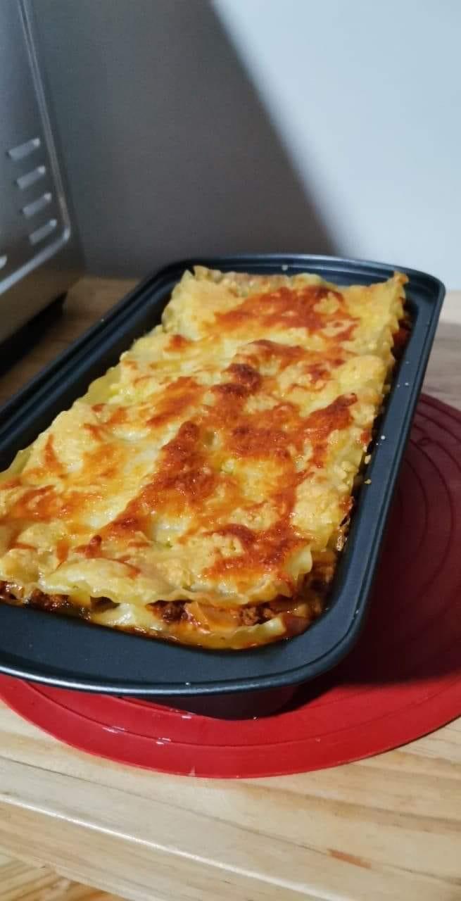 baked vegetarian lasagna