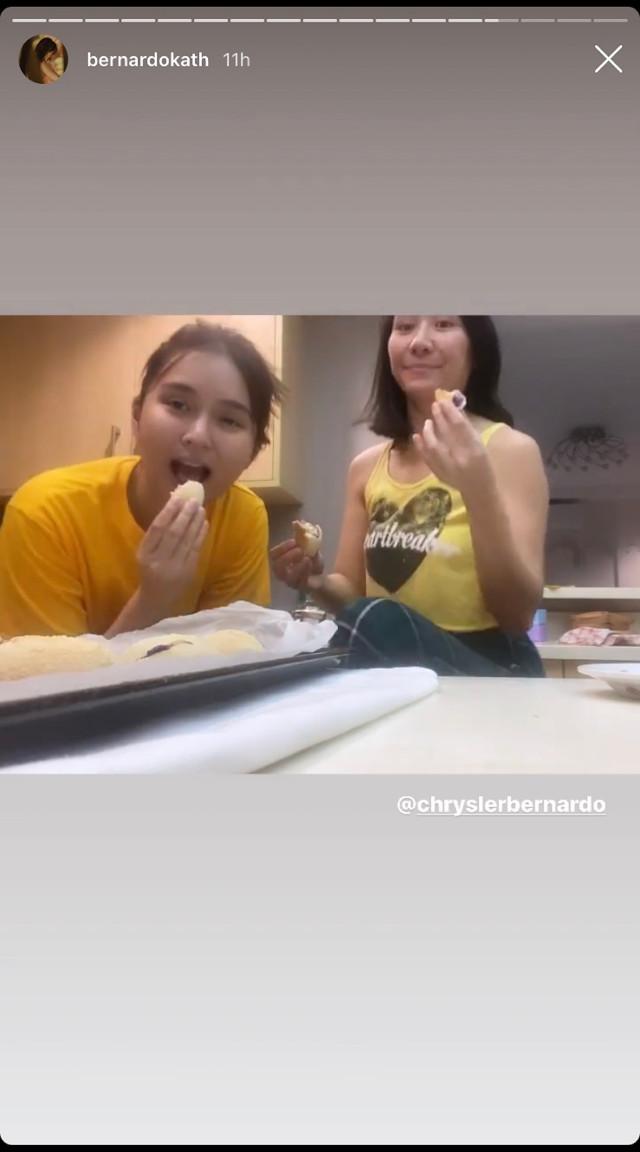 Kathryn Bernardo baked ube cheese pan de sal