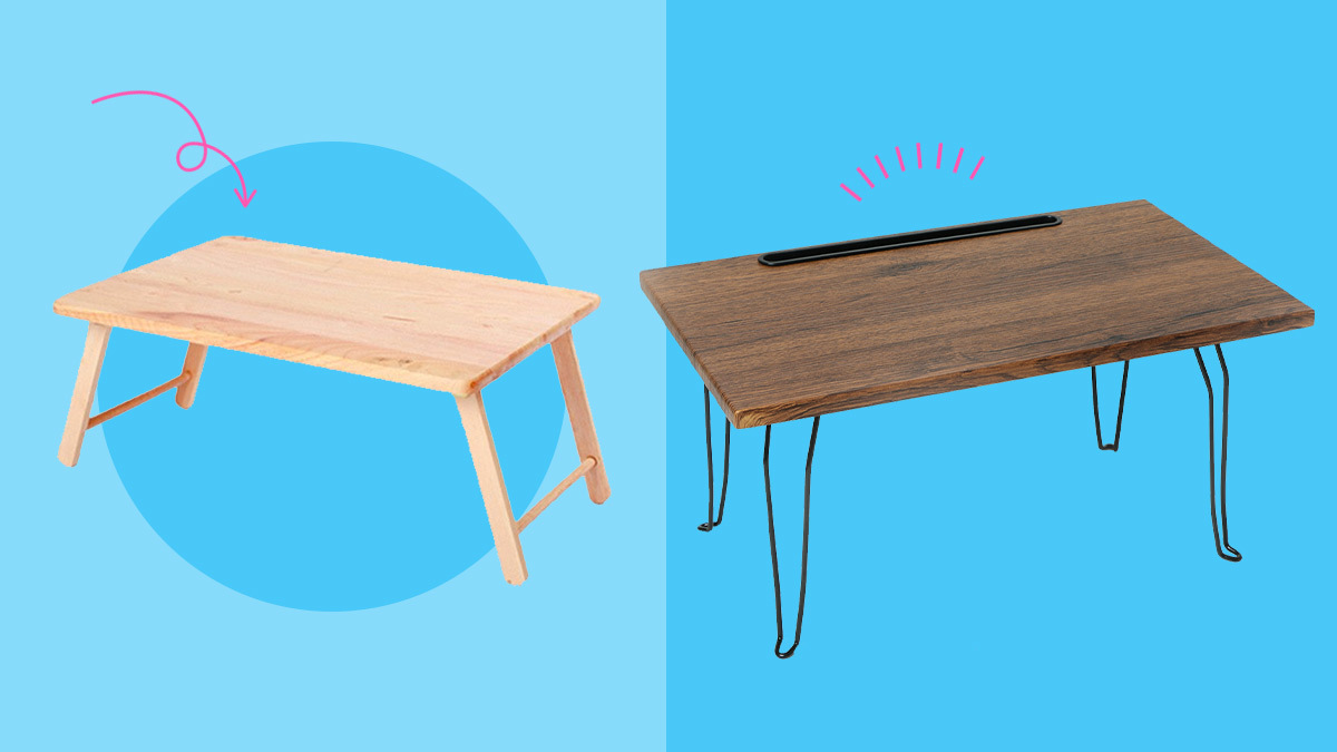 5 Laptop Tables To Buy So You Don't Have To Leave Your Bed