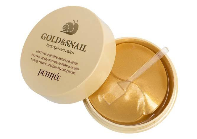 Best Snail Slime-Infused Skincare Product: Petitfee Gold & Snail Hydrogel Eye Patch