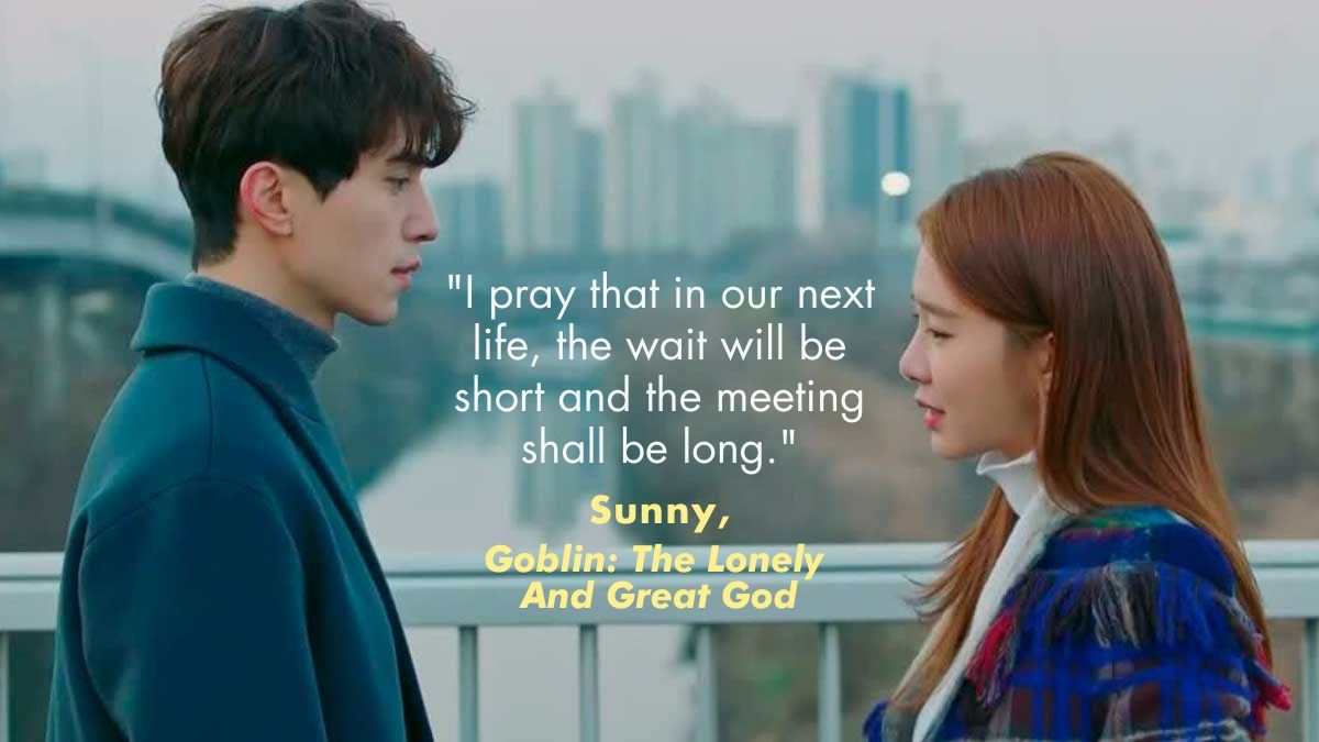 A quote from Goblin: