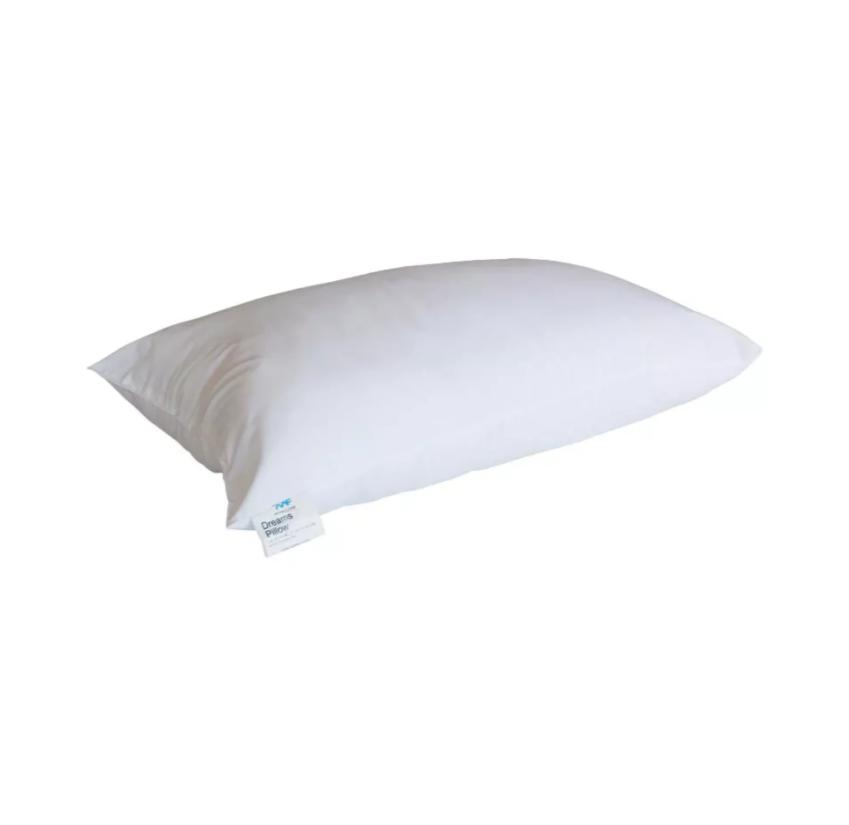 white fiber dreams pillow