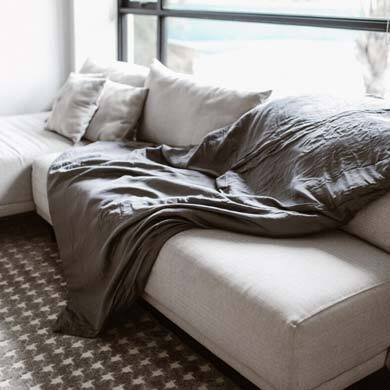 Best Weighted Blanket: Linen and Homes Tranquility Weighted Blanket