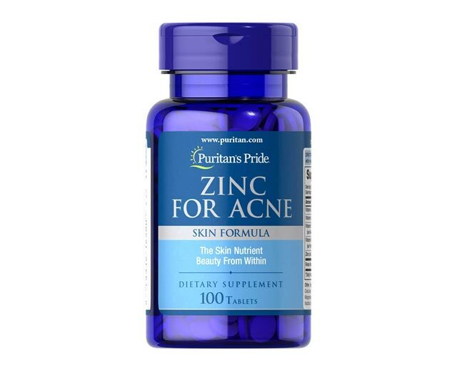 Best Zinc-Infused Product: Puritan's Pride Zinc for Acne