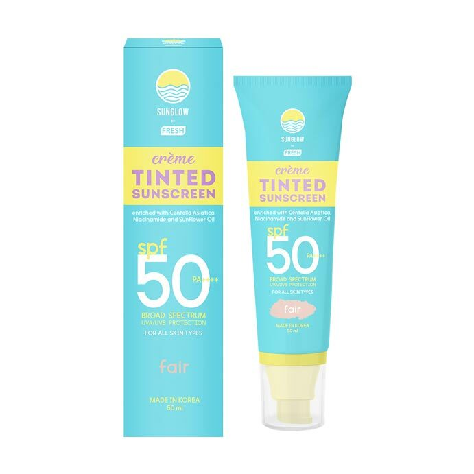 Best Zinc-Infused Product: Sunglow by Fresh Creme Tinted Sunscreen