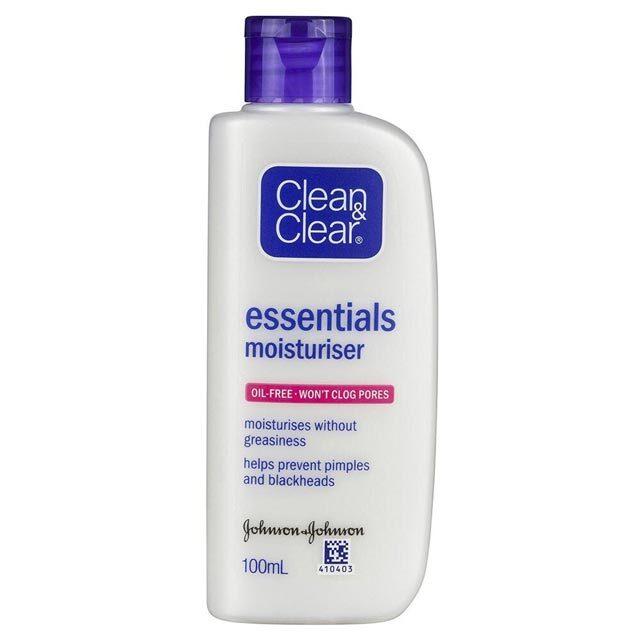 Best Oil-Free Moisturizer: Clean & Clear Essentials Moisturizer
