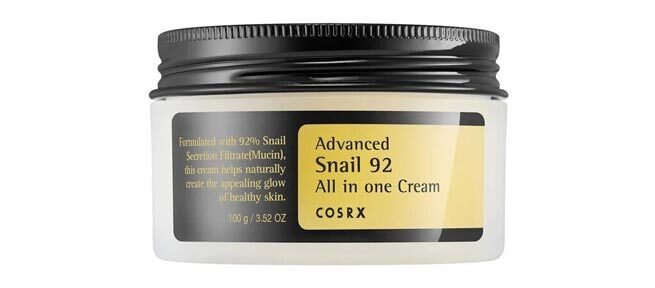 Best Oil-Free Moisturizer: COSRX Advanced Snail 92 All in One Cream