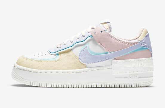 The Cutest Pastel Sneakers: Nike Air Force 1 Shadow