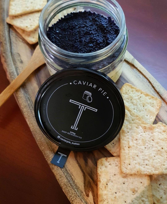 caviar pie in a jar
