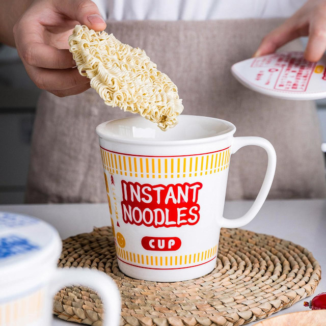 Check Out These Cup Noodles-Inspired Bowls