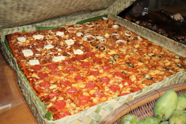 The Brick Oven Cafe's Eco-Friendly Pizza Box