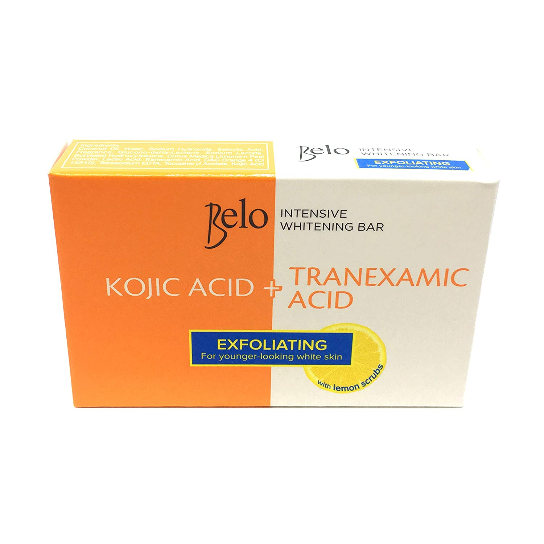 Best Kojic Acid-Infused Skincare Product: Belo Kojic Acid Exfoliating Lemon Scrub