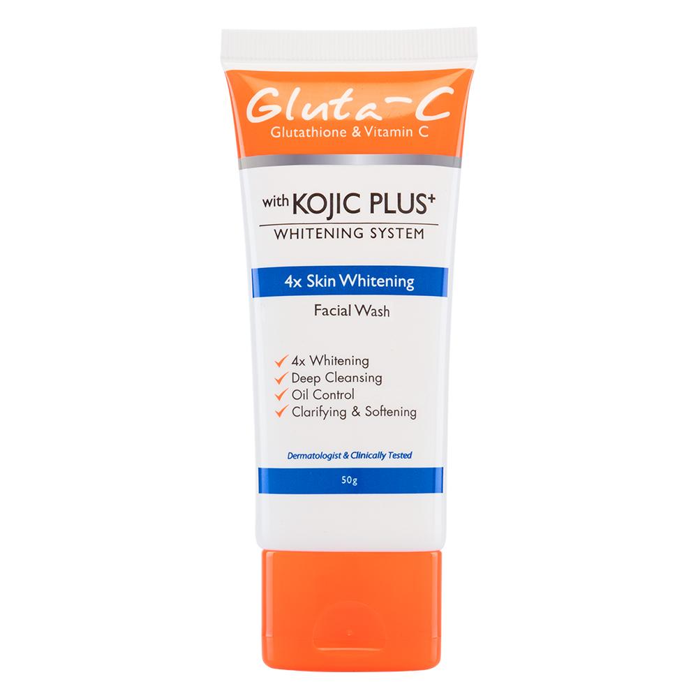 Best Kojic Acid-Infused Skincare Product: Gluta-C Kojic Plus+ Facial Wash