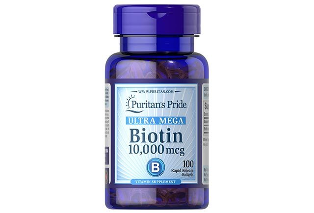 Best Anti-Hair Fall Product: Puritan's Pride Biotin