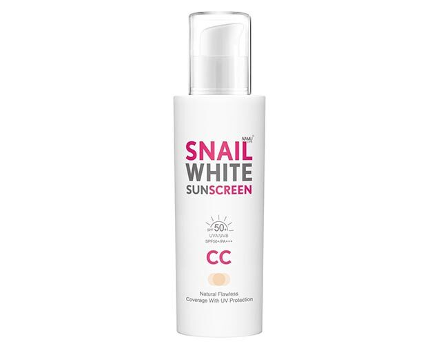Best Non-Sticky Face Sunscreen: SNAILWHITE Sunscreen CC Cream SPF50+/PA+++