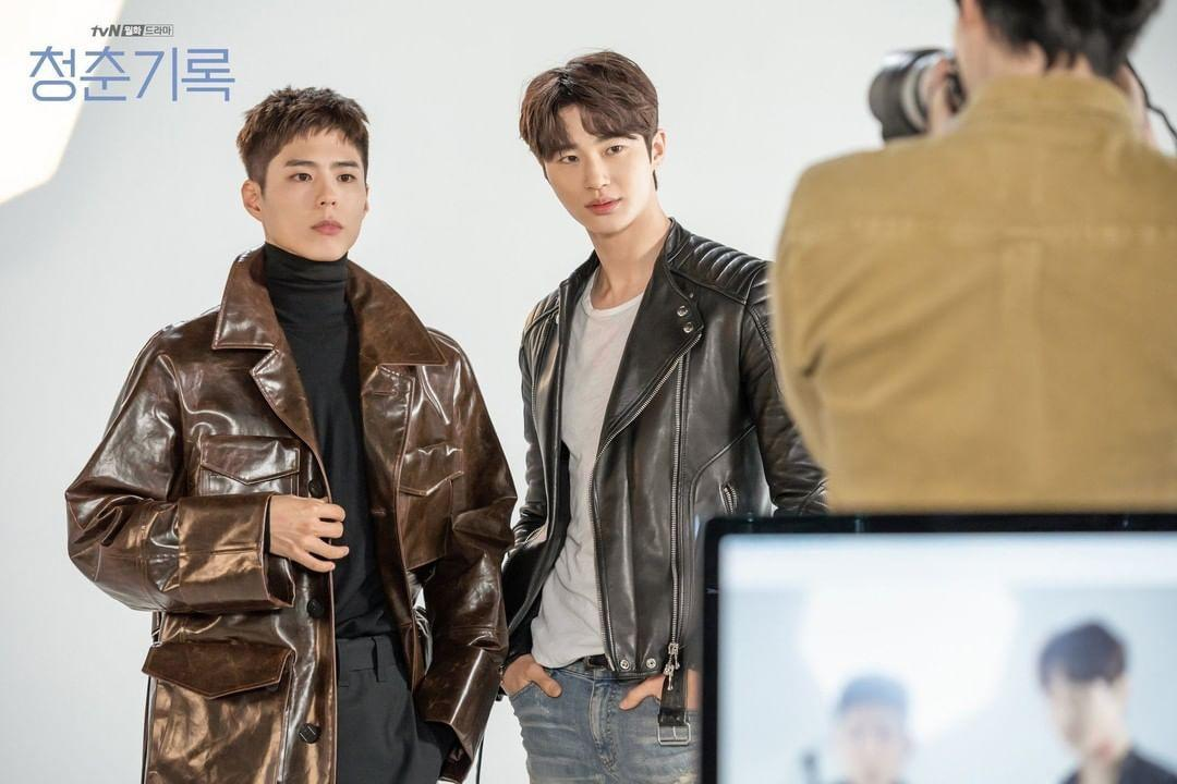 Park Bo Gum and Byeon Woo Seok in Record Of Youth